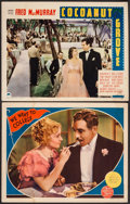 """Movie Posters:Comedy, Cocoanut Grove & Other Lot (Paramount, 1938). Lobby Cards (2)(11"""" X 14""""). Comedy.. ... (Total: 2 Items)"""