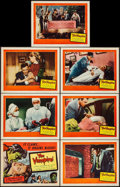 "Movie Posters:Horror, The Vampire (United Artists, 1957). Title Lobby Card & LobbyCards (6) (11"" X 14""). Horror.. ... (Total: 7 Items)"