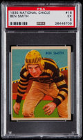 Football Cards:Singles (Pre-1950), 1935 National Chicle Ben Smith #16 PSA EX 5....