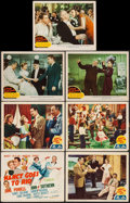 """Movie Posters:Comedy, Nancy Goes to Rio & Other Lot (MGM, 1950). Title Lobby Card& Lobby Cards (6) (11"""" X 14""""). Comedy.. ... (Total: 7 I..."""