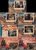 "Movie Posters:Adventure, The Man in the Iron Mask & Others Lot (United Artists, 1939).Italian Lobby Cards (8) (13"" X 19.5""). Adventure.. ... (Total: 8Items)"
