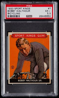 Olympic Cards:General, 1933 Sport Kings Bobby Walthour Sr. #7 PSA EX+ 5.5....