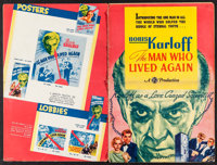 """The Man Who Lived Again (Gaumont, 1936). Cut Pressbook (16 Pages, 12"""" X 18""""). Horror"""