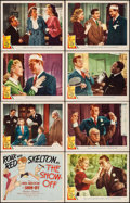 """Movie Posters:Comedy, The Show-Off (MGM, 1946). Lobby Card Set of 8 (11"""" X 14""""). Comedy.. ... (Total: 8 Items)"""