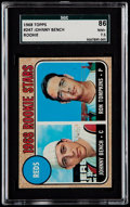 Baseball Cards:Singles (1960-1969), 1968 Topps Johnny Bench - Reds Rookies #247 SGC 86 NM+ 7.5....