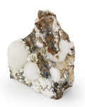 Minerals:Miniature, Artinite. San Benito Co.. California, USA. 1.87 x 1.48 x 1.60inches (4.76 x 3.77 x 4.07 cm). ...