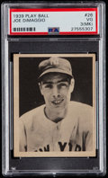 Baseball Cards:Singles (1930-1939), 1939 Play Ball Joe DiMaggio #26 PSA VG 3....
