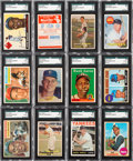 Baseball Cards:Lots, 1940's-1970's Topps, Bowman, Fleer & Exhibit BaseballCollection (850+). ...