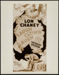 "Movie Posters:Horror, Lon Chaney Sr. in Laugh Clown Laugh (MGM, 1928). Key Art Photo (8"" x 10""). Horror.. ..."