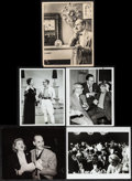 "Movie Posters:Comedy, Groucho Marx Photo Lot (1940s-1970s). Photos (5) (7"" X 9,"" 7.5"" X9,"" & 8"" X 10""). Comedy.. ... (Total: 5 Items)"