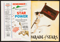 """MGM 10th Championship Year Parade of Stars (MGM, 1933-1934). Paperbound Exhibitor Book (36 Pages, 9.5"""" X 12.25). Mi..."""