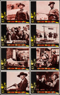 "Movie Posters:Western, For a Few Dollars More (United Artists, 1967). Lobby Card Set of 8 (11"" X 14""). Western.. ... (Total: 8 Items)"