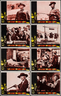 """For a Few Dollars More (United Artists, 1967). Lobby Card Set of 8 (11"""" X 14""""). Western. ... (Total: 8 Items)"""