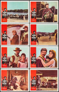 "Movie Posters:Western, A Fistful of Dollars (United Artists, 1967). Lobby Card Set of 8(11"" X 14""). Western.. ... (Total: 8 Items)"