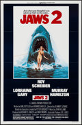 "Movie Posters:Horror, Jaws 2 & Other Lot (Universal, 1978). One Sheets (2) (27"" X41""). Lou Feck Artwork. Horror.. ... (Total: 2 Items)"