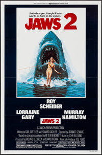 """Jaws 2 & Other Lot (Universal, 1978). One Sheets (2) (27"""" X 41""""). Horror. ... (Total: 2 Items)"""
