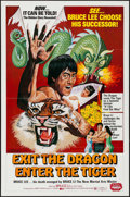 "Movie Posters:Action, Exit the Dragon, Enter the Tiger & Others Lot (Dimension,1976). One Sheets (3) (27"" X 41""). Action.. ... (Total: 3 Items)"