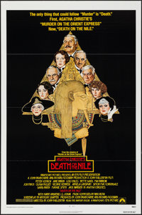 """Death on the Nile & Other Lot (Paramount, 1978). One Sheets (2) (27"""" X 41"""") & Lobby Cards (4)..."""
