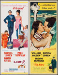 """Movie Posters:Comedy, Lady L & Other Lot (MGM, 1966). Inserts (2) (14"""" X 36"""").Comedy.. ... (Total: 2 Items)"""