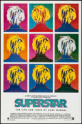 "Movie Posters:Documentary, Superstar: The Life and Times of Andy Warhol & Others Lot(Aries Films, 1991). One Sheets (3) (27"" X 41"", 27"" X 40"") ..."