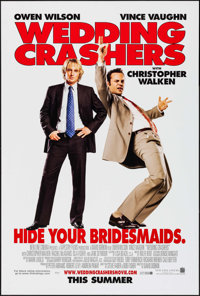 "Wedding Crashers & Others Lot (New Line, 2005). One Sheets (4) (27"" X 40"") DS Advance. Comedy. ... (To..."