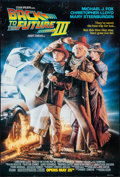 """Movie Posters:Science Fiction, Back to the Future Part III (Universal, 1990). One Sheet (27"""" X41"""") Advance. Science Fiction.. ..."""