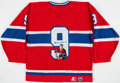 Hockey Collectibles:Others, Maurice Richard Signed Detroit Red Wings Jersey. ...