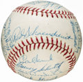 Autographs:Baseballs, 1965 St. Louis Cardinals Team Signed Baseball (29 Signatures). ...