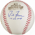Autographs:Baseballs, David Freese Single Signed Baseball - 2011 World Series MVP....
