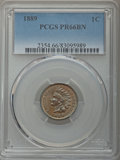 Proof Indian Cents: , 1889 1C PR66 Brown PCGS. PCGS Population: (24/3). NGC Census: (23/0). Mintage 3,336. ...