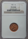 Proof Indian Cents: , 1901 1C PR65 Red NGC. NGC Census: (12/17). PCGS Population: (29/34). CDN: $950 Whsle. Bid for problem-free NGC/PCGS PR65. M...