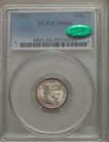 Barber Dimes: , 1912 10C MS66 PCGS. CAC. PCGS Population: (52/7). NGC Census:(28/10). CDN: $640 Whsle. Bid for problem-free NGC/PCGS MS66....