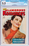 Golden Age (1938-1955):Romance, Glamorous Romances #56 (Ace, 1951) CGC FN- 5.5 Off-white to whitepages....