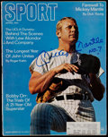 """Baseball Collectibles:Publications, Mickey Mantle Signed """"Sport"""" Magazine. ..."""