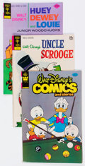 Bronze Age (1970-1979):Cartoon Character, Gold Key Bronze Age Walt Disney Related Short Box Group (Gold Key,1970s) Condition: Average FN....