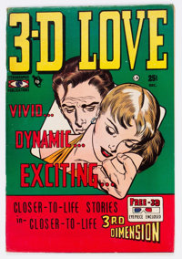 3-D Love #1 (Steriographic Publications, 1953) Condition: FN+