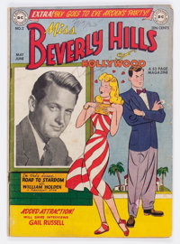 Miss Beverly Hills of Hollywood #2 (DC, 1949) Condition: VG-