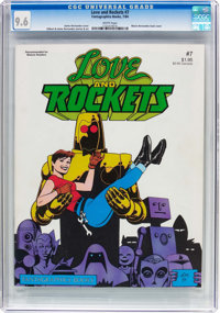 Love and Rockets #7 (Fantagraphics Books, 1984) CGC NM+ 9.6 White pages