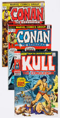 Bronze Age (1970-1979):Adventure, Conan the Barbarian and Kull the Conqueror Group of 80 (Marvel, 1970s) Condition: Average FN/VF.... (Total: 80 Comic Books)