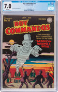 Golden Age (1938-1955):War, Boy Commandos #16 (DC, 1946) CGC FN/VF 7.0 White pages....