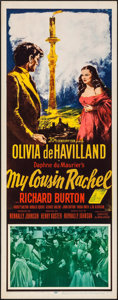 """Movie Posters:Mystery, My Cousin Rachel & Others Lot (20th Century Fox, 1952). Inserts(3) (14"""" X 36""""). Mystery.. ... (Total: 3 Items)"""