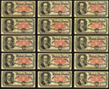 Fractional Currency:Fifth Issue, Fr. 1381 50¢ Fifth Issue Thirty Examples About New;. Fr. 1381 50¢ Fifth Issue VG.. ... (Total: 31 notes)
