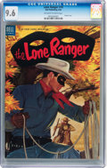 Golden Age (1938-1955):Western, Lone Ranger #74 (Dell, 1954) CGC NM+ 9.6 Off-white to whitepages....