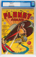 Golden Age (1938-1955):Science Fiction, Planet Comics #7 (Fiction House, 1940) CGC VG/FN 5.0 Cream to off-white pages....