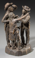 Fine Art - Sculpture, American:Contemporary (1950 to present), Clyde Doney (American, 20th Century). Pointing the Way,1969. Bronze with brown patina. 9-1/2 inches (24.1 cm) high. Ins...