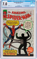 Silver Age (1956-1969):Superhero, The Amazing Spider-Man #3 (Marvel, 1963) CGC FN/VF 7.0 Off-white towhite pages....
