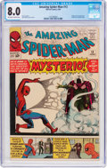 Silver Age (1956-1969):Superhero, The Amazing Spider-Man #13 (Marvel, 1964) CGC VF 8.0 Off-white to white pages....