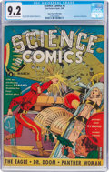 Golden Age (1938-1955):Superhero, Science Comics #2 Mile High Pedigree (Fox, 1940) CGC NM- 9.2 Off-white to white pages....