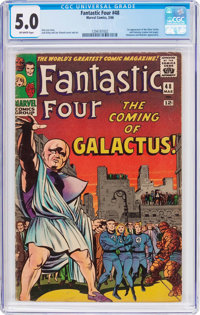 Fantastic Four #48 (Marvel, 1966) CGC VG/FN 5.0 Off-white pages