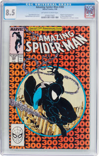 The Amazing Spider-Man #300 (Marvel, 1988) CGC VF+ 8.5 Off-white to white pages